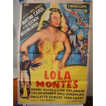 Poster Lola Montes Martine Carol Anton Walbrook Max Ophuls