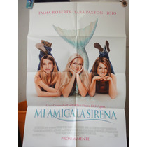 Poster Aquamarine Emma Roberts Joanna Levesque Sara Paxton