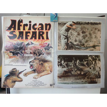 Poster Rivers Of Fire And Ice African Safari Ronald Shanin