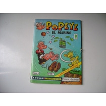 Popeye Comic #1 1986 Editorial Vid