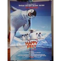 Poster Original Happy Feet El Pinguino George Miller Warren