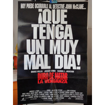 Poster Duro De Matar 3 Bruce Willis Jeremy Irons Die Hard 3