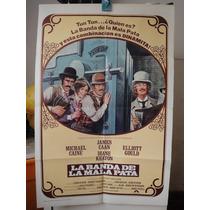 Poster La Banda De La Mala Pata James Caan Michael Cane 1976