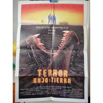 Poster Terror Bajo Tierra Tremors Kevin Bacon Fred Ward 1990