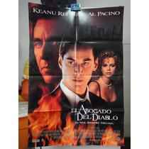 Poster El Abogado Del Diablo Keanu Reeves Al Pacino Charlize
