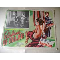 Palabras De Mujer Agustin Lara Lobby Card Cartel Poster