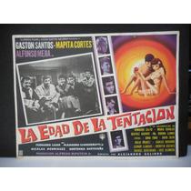 Gaston Santos, La Edad De La Tentacion, Cartel De Cine