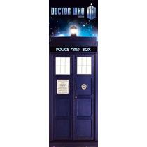 El Doctor Who Cartel - Tardis Policía Box Midi 30.5cmx 91.5