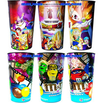 Vaso Original De Cine Dragon Ball Z M&m´s M&m Goku Vegeta