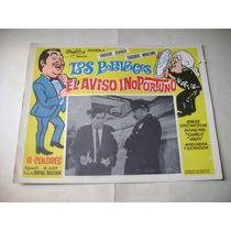El Aviso Oportuno Los Polivoces Lobby Card Cartel Poster A