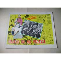 Hijazo De Mi Vidaza Los Polivoces Lobby Card Cartel Poster D