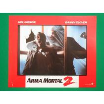 Arma Mortal 2 Mel Gibson Danny Glover Original Cartel D Cine