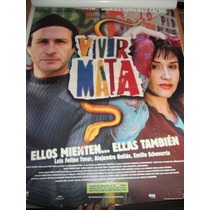 :: Vivir Mata - Susana Zabaleta :: Poster Cine Original
