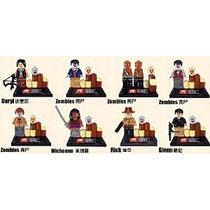 The Walking Dead Lego Minifigure Compatible Conjunto De 8 Zo