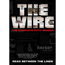 The Wire Season 5 Bajo Escucha Temporada 5 Importacion Dvd