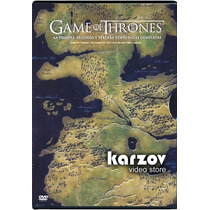 Game Of Thrones, Juegos De Tronos, Temporadas 1 - 3 Dvd