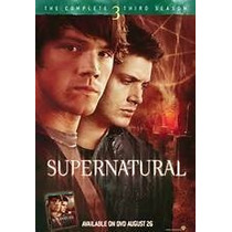 Supernatural Tercera Temporada Completa