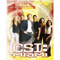 Csi Miami Segunda Temporada 2 Dos , Serie De Tv En Dvd
