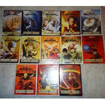 Avatar, La Leyenda De Aang. Serie Animada De Tv En Dvd