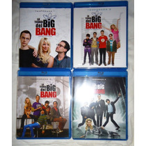 La Teoria Del Big Bang, Temporadas 1,2,3,4 En Blu-ray