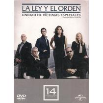 La Ley Y Orden Uve Temporada 14 , Catorce Serie Tv En Dvd