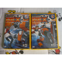 Generador Rex Dvd Temporada 1 Vol.1 Y 2 Cartoon Network