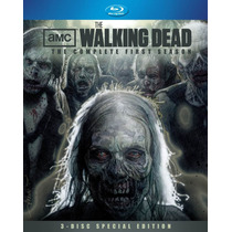 The Walking Dead Temporada 1 Uno Importada En Blu-ray