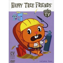 Happy Tree Friends Temporada 1 Volumen 4 , Serie Tv En Dvd