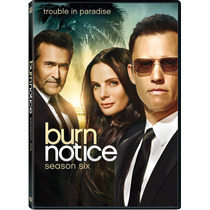 Burn Notice , Temporada 6 Seis , Serie De Tv Importada Dvd