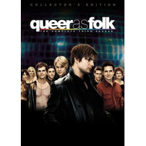 Queer As Folk , Temporada 3 Tres , Importada Serie Tv Dvd