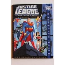 La Liga De La Justicia Ilimitada , Temporada 2 Dos Serie Dvd