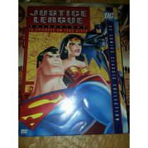 La Liga De La Justicia ,4 Volumenes , Serie Tv En Dvd