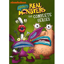 Aaahh Real Monsters , Boxset Serie Completa Tv Discos Dvd