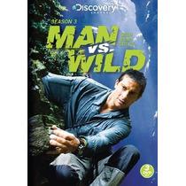 A Prueba De Todo , Man Vs Wild Temporada 3 Tres , Serie Dvd