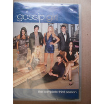 Gossip Girl Tercera Temporada Box Set 5 Dvds Region 1 Eu