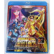 Caballeros Del Zodiaco The Movie Box Blu-ray 1987-2004 + Kct