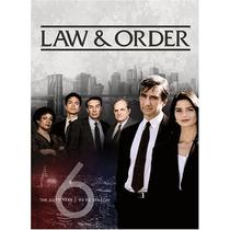 La Ley Y Orden Temporada 6 Importada Dvd