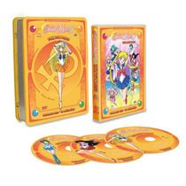 Sailor Moon Paquetes Talk Boxs Volumenes 1,2,3,4,5 En Dvd