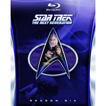 Star Trek The Next Generation Temporada 6 Seis Importada Bl