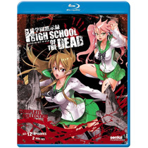 High School Of The Dead Complete Collection Serie Tv Blu-ray