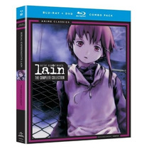 Serial Experiments Lain Coleccion Completa Boxset Blu-ray