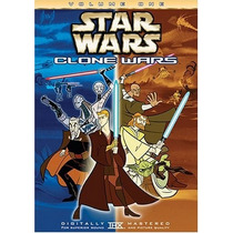 Star Wars The Clone Wars Volumen 1 Y 2 Serie Tv Discos Dvd