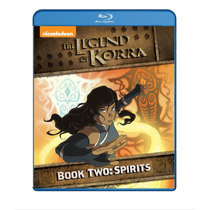 The Legend Of Korra Book Two Spirits Completa Serie Blu-ray