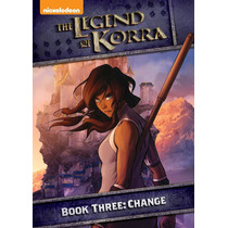 The Legend Of Korra Book Three Change Completa Serie Tv Dvd