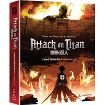Attack On Titan , Parte 1 , Serie Tv Discos Blu - Ray + Dvd