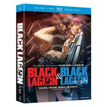 Black Lagoon Temporada 1 Y 2 Serie Importada Blu - Ray + Dvd