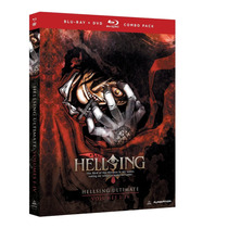 Hellsing Ultimate Vol 1 - 4 , Anime Importada Blu-ray + Dvd