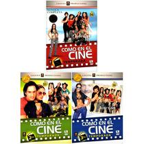 Como En El Cine, Temporadas 1, 2, 3, Telenovela, Mexico, Dvd