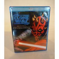 Star Wars, Guerra De Los Clones Temporada 4, Cuatro Blu-ray