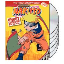 Naruto Uncut Temporada 1 Uno Volumen 1 Boxset , Anime Dvd